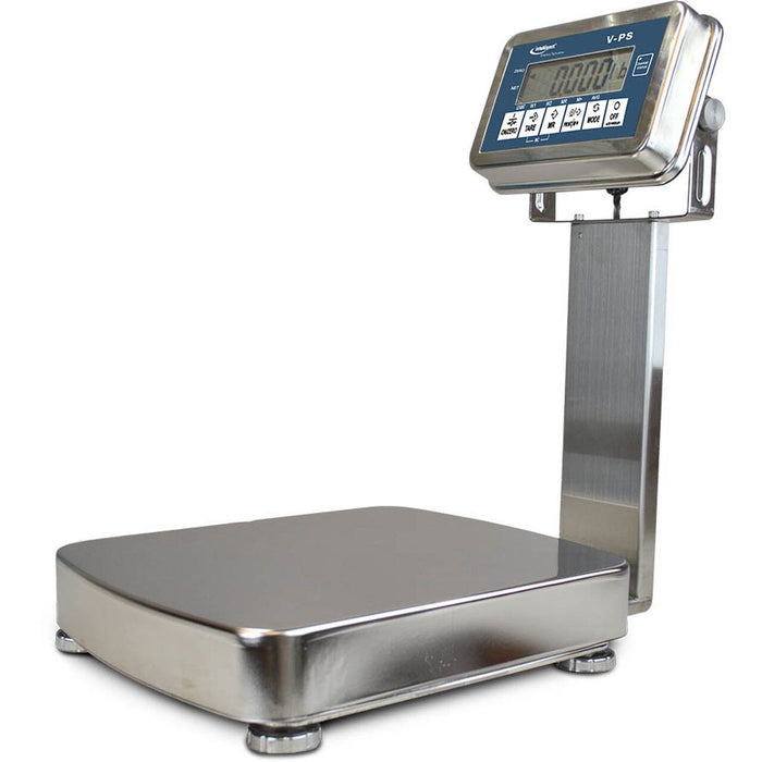 Intelligent Weighing VPS-512K Stainless Steel Washdown Bench Scale, 26 g Capacity, 0.0002 g Readability