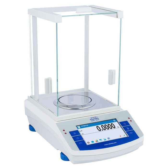 Radwag AS 82/220.X2 Analytical Balance, 220 g Capacity, 0.00001 g Readability
