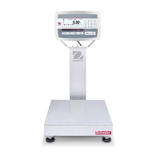 Ohaus D52XW50RTR1 DEFENDER 5000 Bench Scale, 100 g Capacity,  g Readability