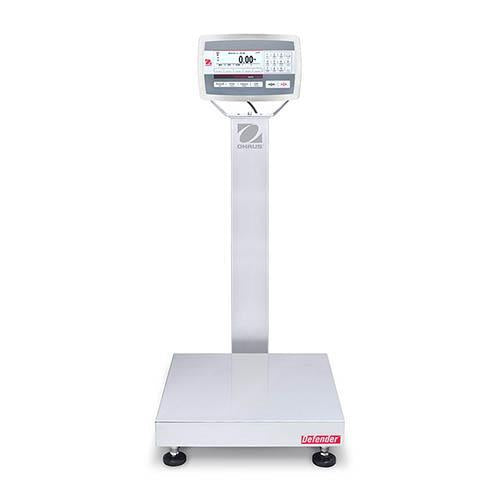 Ohaus D52XW50RQL2 DEFENDER 5000 Bench Scale, 100 g Capacity,  g Readability