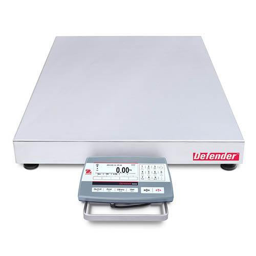 Ohaus D52XW50WQV5 DEFENDER 5000 WASHDOWN Bench Scale, 100 g Capacity,  g Readability