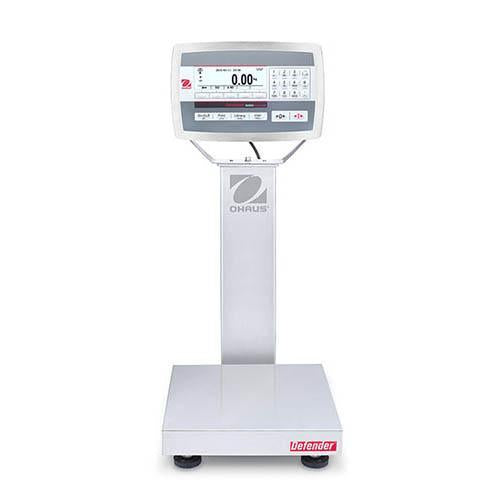 Ohaus D52XW5WQS6 DEFENDER 5000 WASHDOWN Bench Scale, 10 g Capacity,  g Readability
