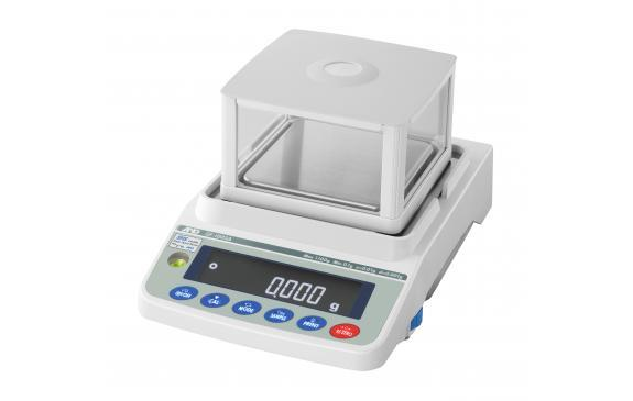 AND Weighing GF-1603A Precision Balance, 4 g Capacity, 0.001 g Readability