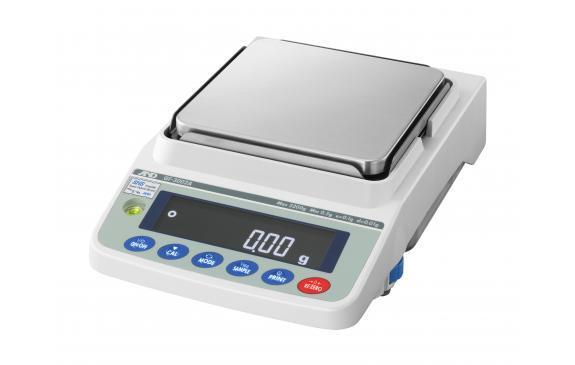 AND Weighing GF-1202A Precision Balance, 3 g Capacity, 0.01 g Readability