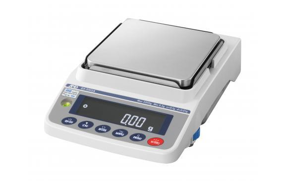 AND Weighing GX-2002A Precision Balance, 5 g Capacity, 0.01 g Readability