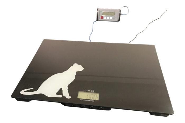 TREE LC-VS 60 Low Cost Veterinary Scale Series, 60 g Capacity, 0,02 g Readability