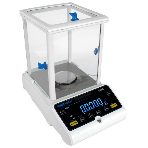 Adam Equipment LAB 254e Analytical Balance, 1 g Capacity, 0.0001 g Readability