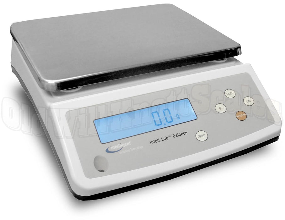 Intelligent Weighing PC-A 6001 Precision Laboratory Balance, 13 g Capacity, 0.1 g Readability