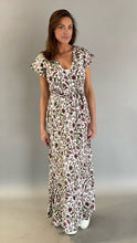 Afbeelding in Gallery-weergave laden, Est'Sabrina Wrap Dress Butterfly dream White