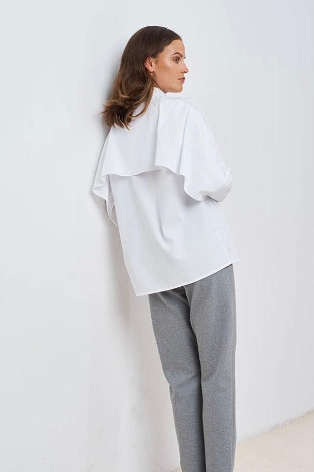 CHPTR-S blouse wave white