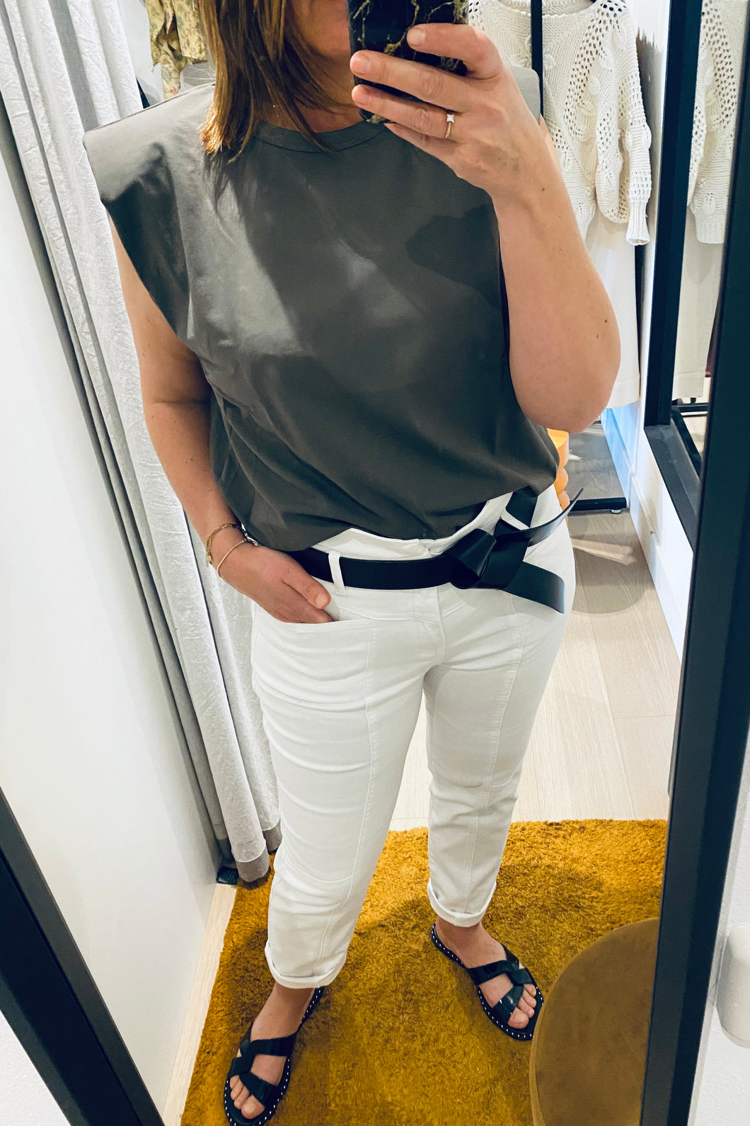 Co'couture Zora jeans White