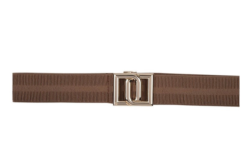 Dante6 monogram belt camel