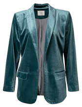 Afbeelding in Gallery-weergave laden, Yaya velours blazer with strap at back