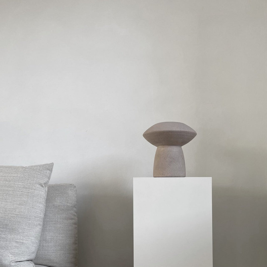 Sphere Vase Fat - Taupe 111172
