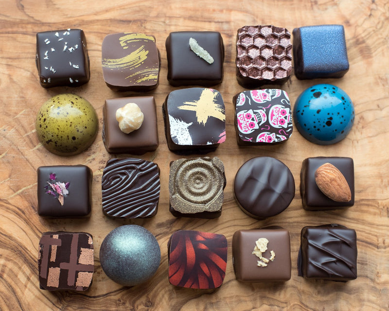 Rousseau Chocolatier - Box of 24 Artisan Milk Chocolates