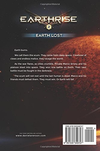 Earth Lost: Book TWO (Earthrise) by Daniel Arenson
