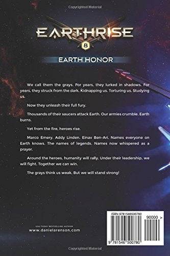 Earth Honor: Book EIGHT (Earthrise) by Daniel Arenson