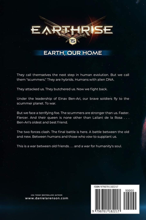 Earth, Our Home: Book FIFTEEN (Earthrise) by Daniel Arenson