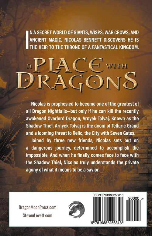 A Place with Dragons: Book ONE (A City With Seven Gates Novel) by Steven L. Lovett