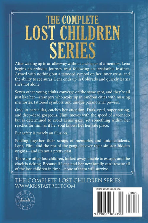 The Complete Lost Children Series: Books 1-6, by Krista Street