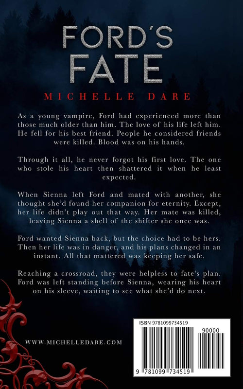 Ford's Fate: Book TWO (Paranormals of Avynwood) by Michelle Dare