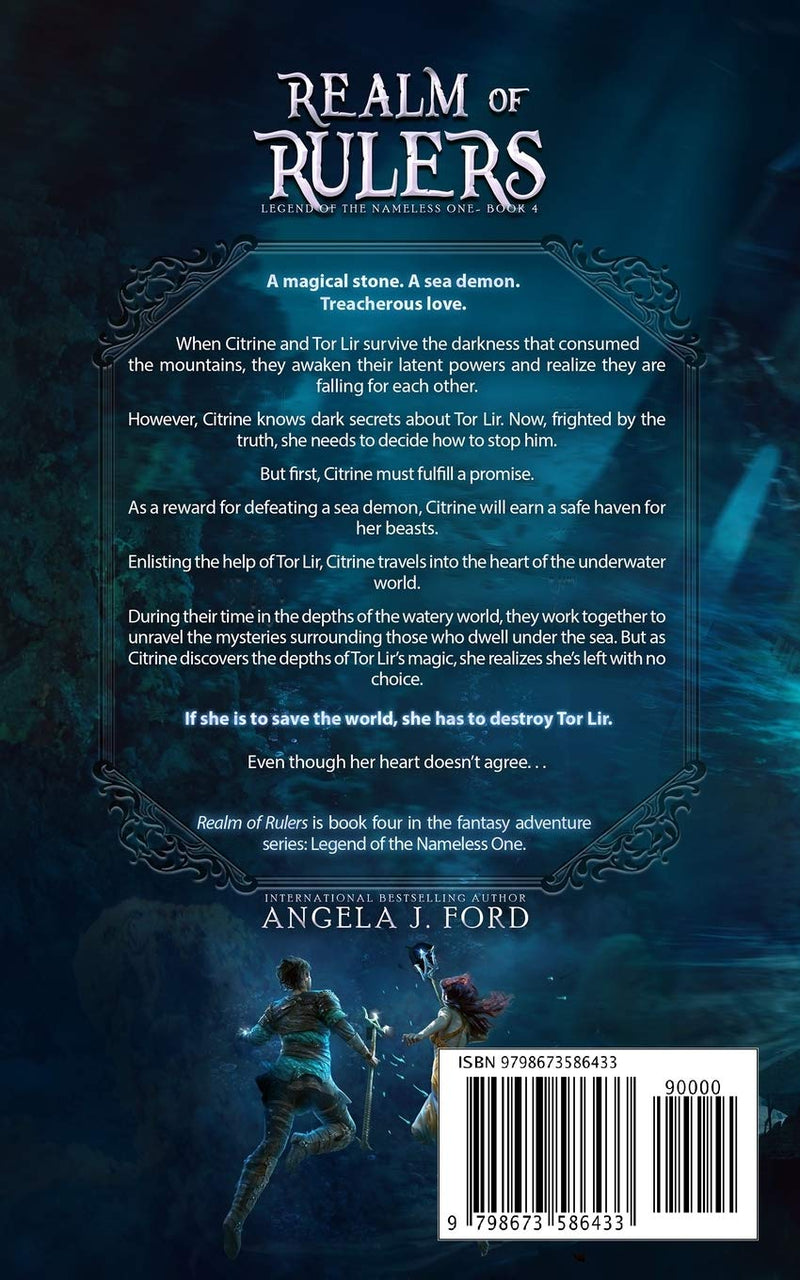 Realm of Rulers: Book 4 (Legend of the Nameless One) by Angela J. Ford