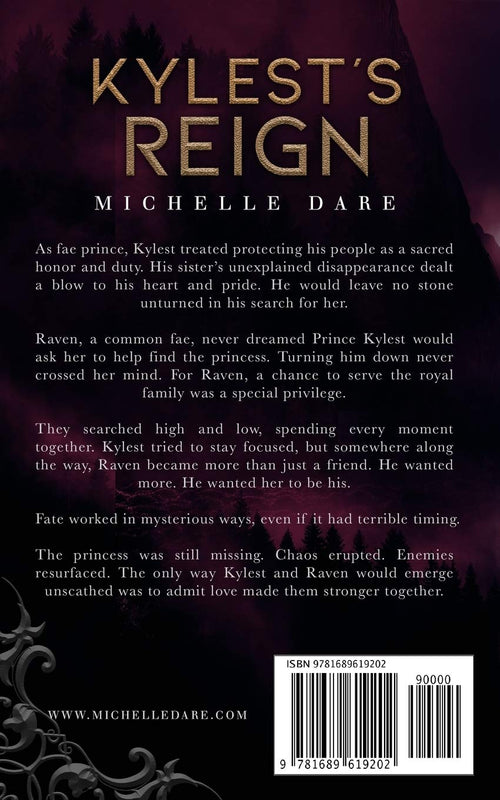 Kylest's Reign: Book THREE (Paranormals of Avynwood) by Michelle Dare