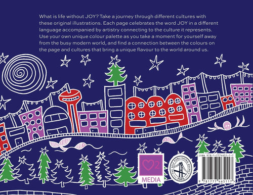 Joy Around the World: A Multilingual Colouring Book by Dunia Tozy
