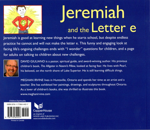 "Jeremiah And The Letter ""e"" by David Giuliano"