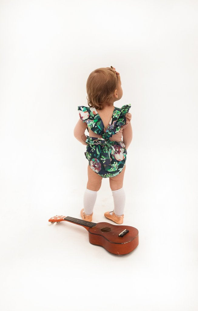 Hubble + Duke Audrey Romper - Botanical