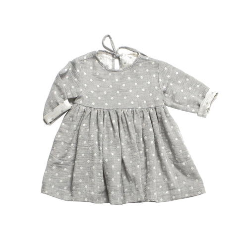 Daughter Field Dress - Blue Gauze