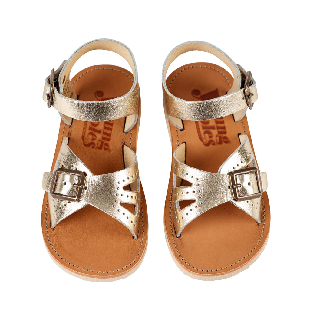 Young Soles Pearl Sandal - Gold