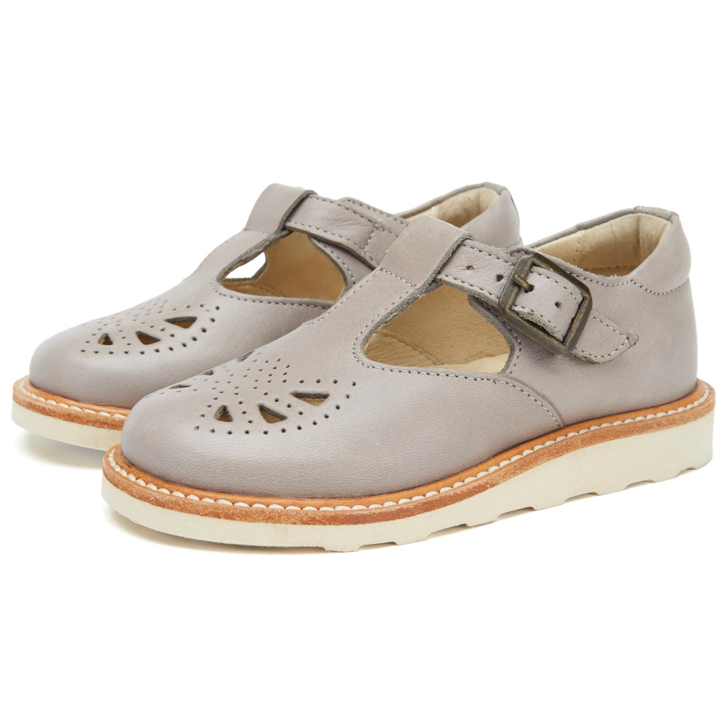 Young Soles Rosie T-Bar - Cloud Grey