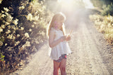 Louise Misha Celiana Top - White PRE-ORDER