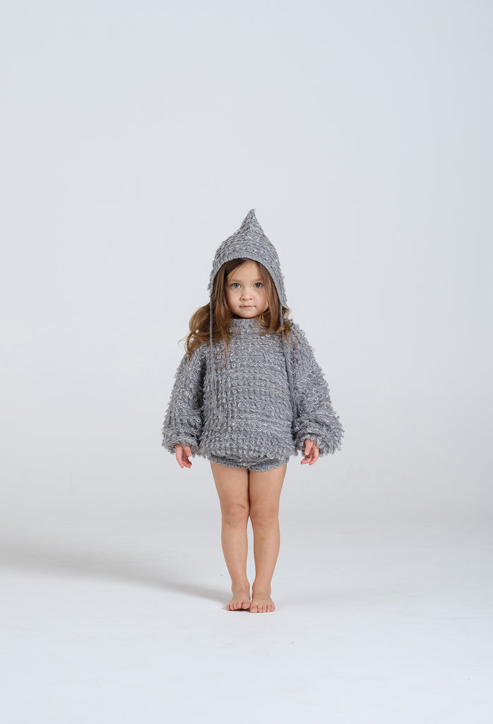 Rylee + Cru Looped Knit Pixie Hat