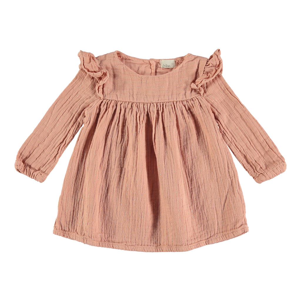 Búho Laura Baby Dress - Rose