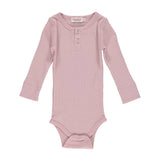 MarMar Copenhagen L/S Bodysuit - Faded Rose