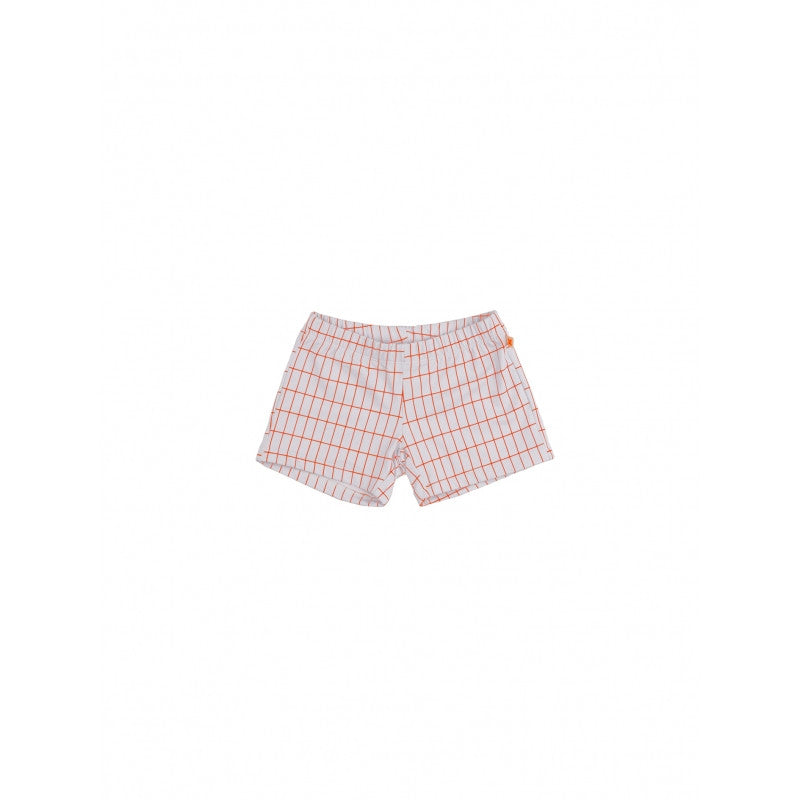 Tiny Cottons Grid Trunks - Pale Blue (last one 8yr)