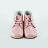 Louis & Lola Hard Sole Toddler Shoes - Isla Blush Patent