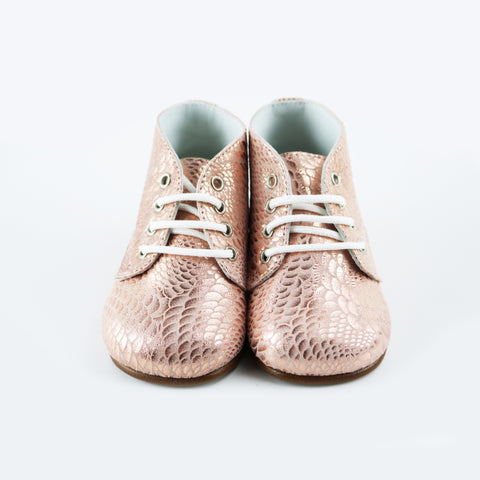 Louis & Lola Soft Sole Baby Shoes - Morgan Gold
