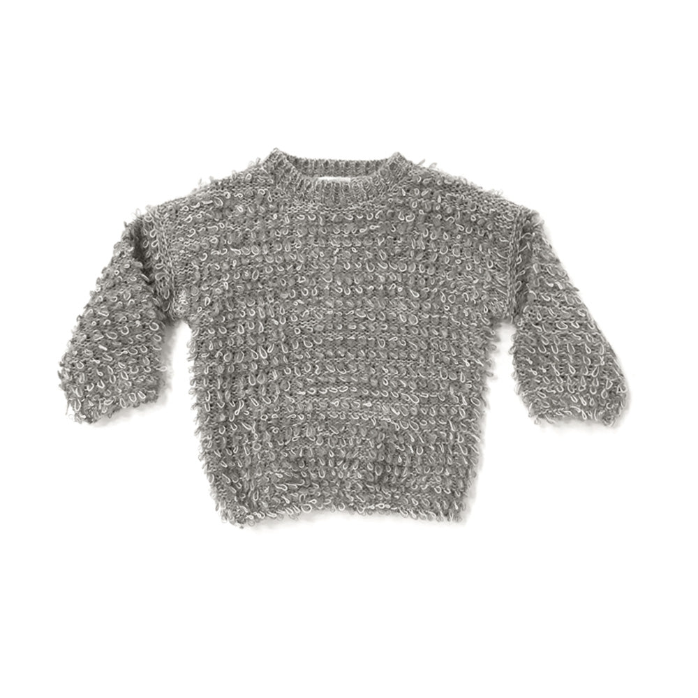 Rylee + Cru Looped Knit Sweater