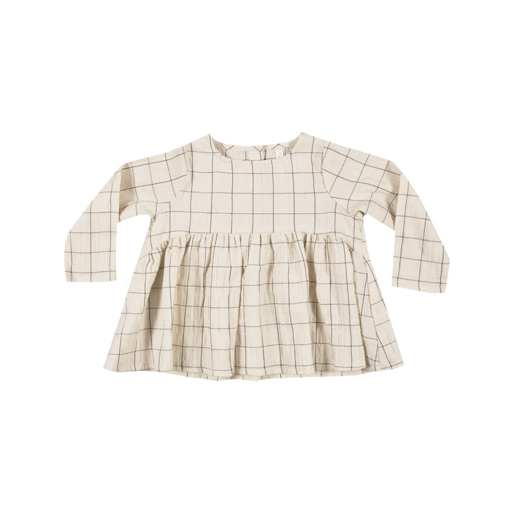 Rylee + Cru L/S Blouse - Check