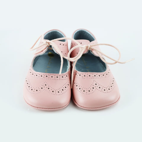 Louis & Lola Hard Sole Toddler Shoes - Isla Silver Pattern