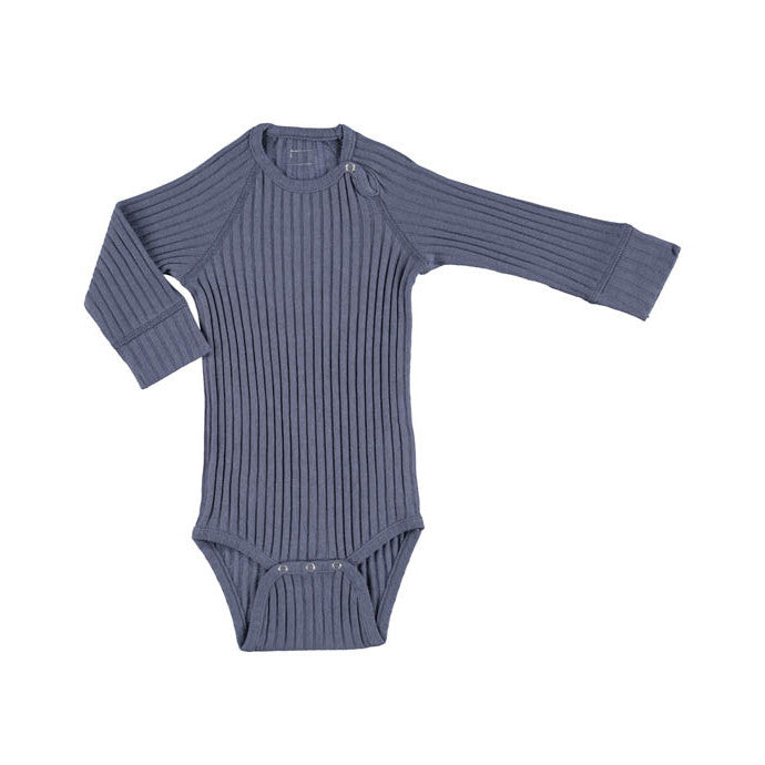 Minipop Denmark L/S Bodysuit - Nightblue