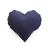 Essi + Co Navy Heart Cushion