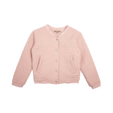 Emile Et Ida Dusty Pink Quilted Jacket