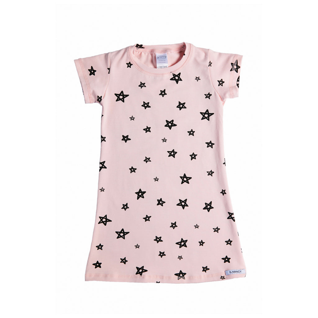G.Nancy Rose Star L/S Nightie