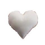 Essi + Co Shell Pink Heart Cushion