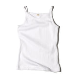 Goat Milk Girls Tank Top - Pointelle White