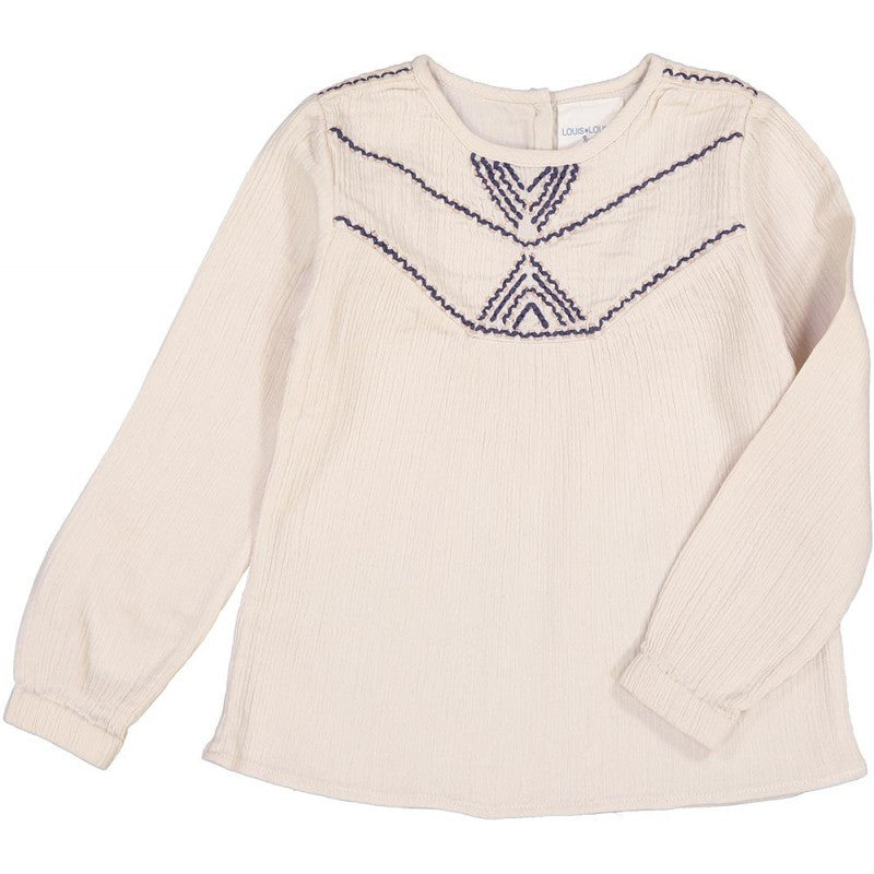 Louis Louise Double Gauze Cotton Petra Blouse